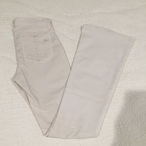 Rag & Bone Elephant Bell White Pants